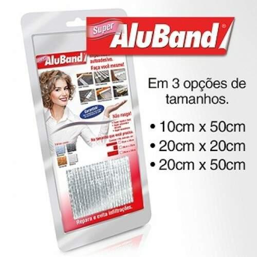 Aluband Alumínio Super 10cmX50cm