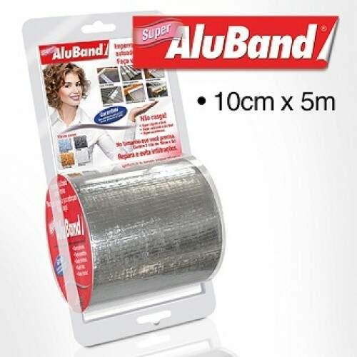 Aluband Alumínio Super 10cmX5m
