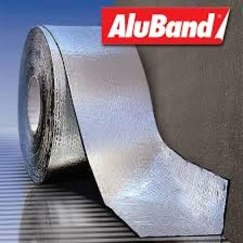 Aluband Aluminio Tramado 10CM