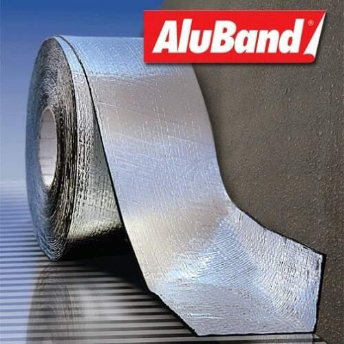 Aluband Aluminio Tramado 20CM