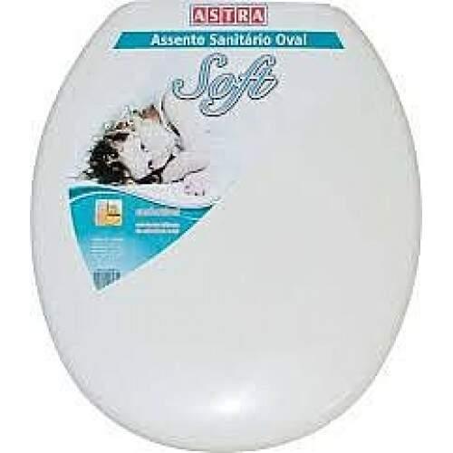 Assento Sanitário Comum Branco Astra REF: TPJ/AS