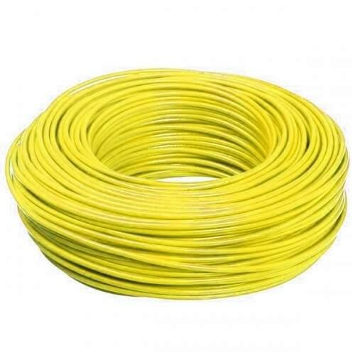 Cabinho Flexível Sil 2,5mm Rolo com 100M Amarelo