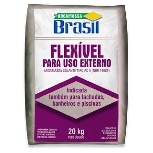 Argamassa Brasil AC2 Externa Branca 20KG