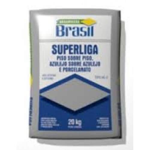 Argamassa Brasil AC3 Cinza Superliga 20KG