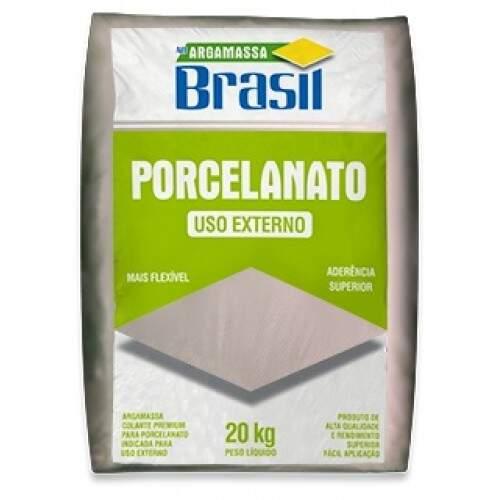 Argamassa Brasil Externa P/ Pocelanato Branco