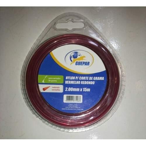 Nylon para Cortar Grama 2.00mmx 15m Guepar
