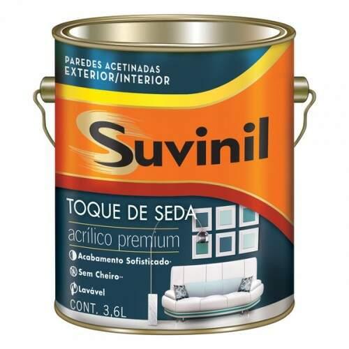 Tinta acrilica gelo acetinado premium 3,6L Suvinil