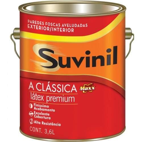 TINTA BRANCO NEVE CLASSICA PREMIUM 3.6L SUVINIL