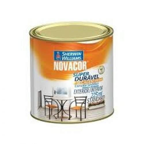 Tinta Esmalte Sintético Brilhante Vermelho 1/4 NOVACOR