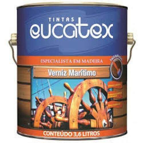 Verniz Eucatex 3.6L Maritimo Brilhante